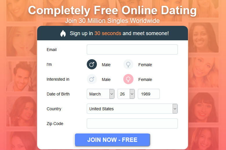 Gratis Dating Sites over 30