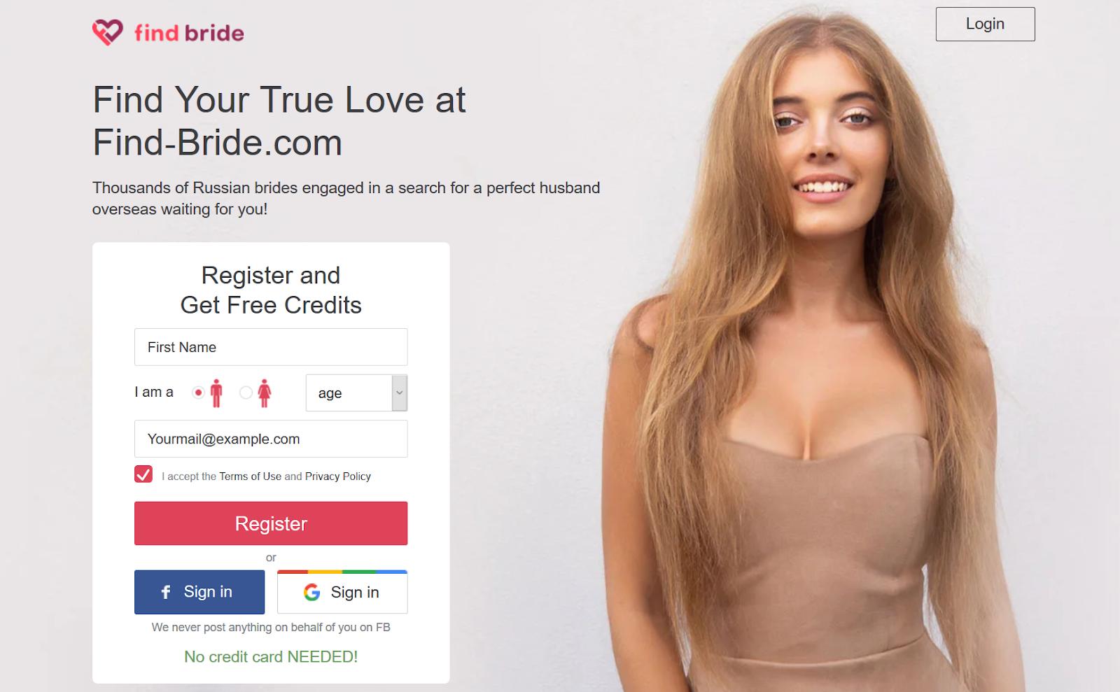 find bride review